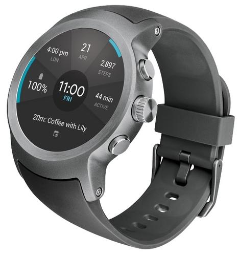 3a584da39829 Купить Часы LG Watch Sport W280 по выгодной цене на Яндекс.Маркете