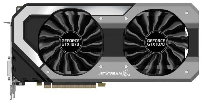 Palit Видеокарта Palit GeForce GTX 1070 1506Mhz PCI-E 3.0 8192Mb 8000Mhz 256 bit DVI HDMI HDCP JetStream