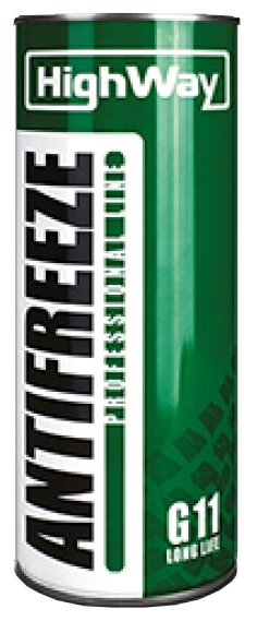 Антифриз HighWay -40 Зеленый G11