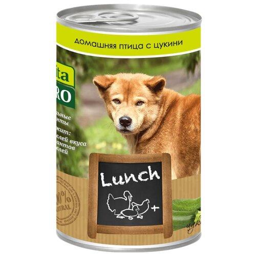 Корм для собак Vita PRO (0.4 кг) 1 шт. Мясные рецепты Lunch для собак, домашняя птица с цукиниКорма для собак<br>