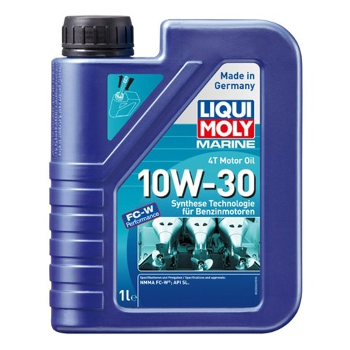 Полусинтетическое моторное масло LIQUI MOLY Marine 4T Motor Oil 10W-30, 1 л недорого