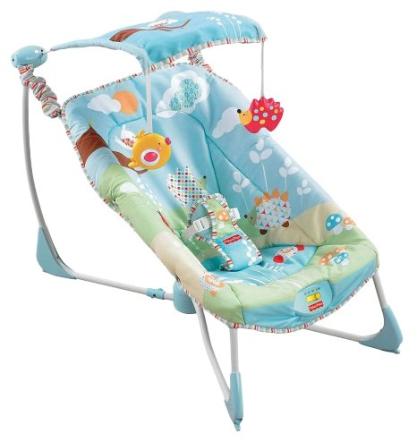 Шезлонг Fisher-Price Soothe & Go Bouncy Seat (W9454)