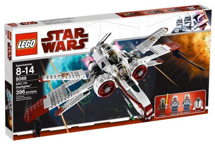 Конструктор LEGO Star Wars 8088 Звездный истребитель ARC-170