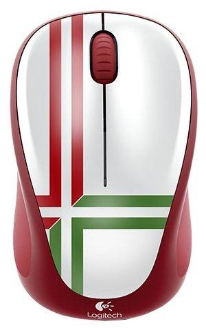 Мышь Logitech Wireless Mouse M235 910-004036 Green-Red USB
