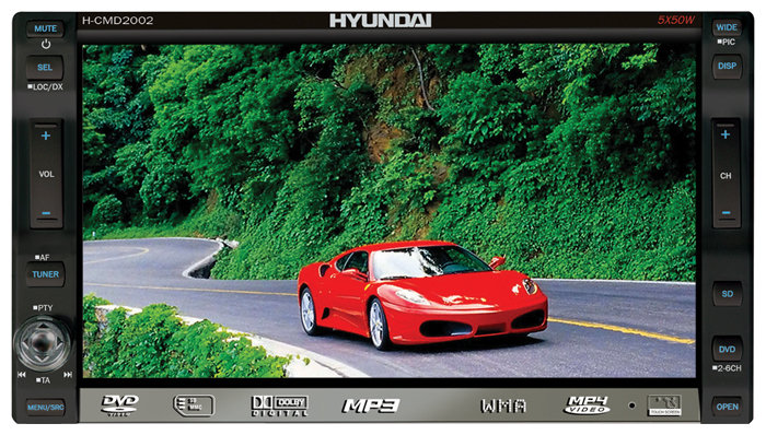 Автомагнитола Hyundai H-CMD2002