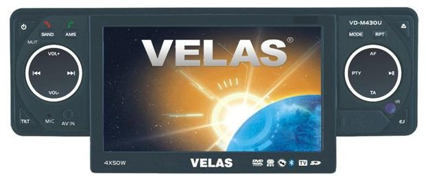 Автомагнитола Velas VD-M430U