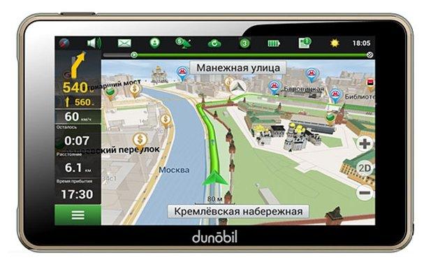 Навигатор Dunobil Clio 5.0, Navitel