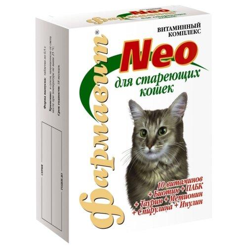 Витамины Фармавит Neo Витаминно-минеральный комплекс для кошек старше 8 лет 60 таб. фармавит neo витаминно минеральный комплекс для кошек астрафарм 60 таблеток