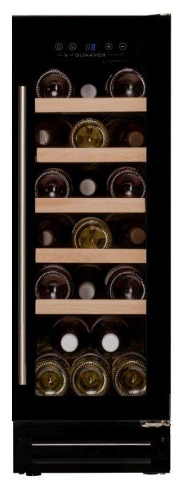 Встраиваемый винный шкаф Dunavox DAU-19.58B