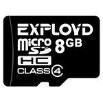 Карта памяти EXPLOYD microSDHC Class 4