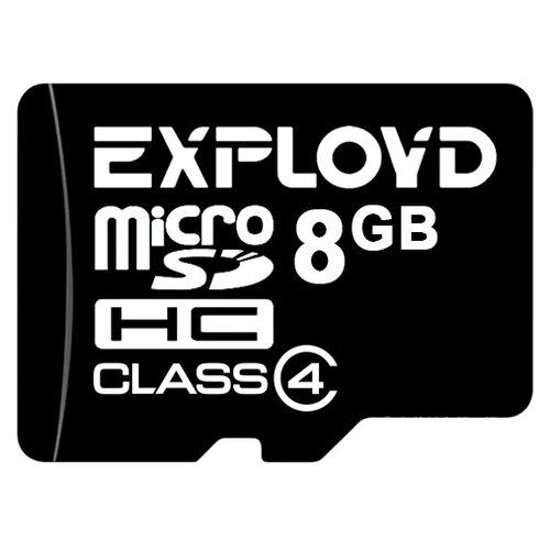 Карта памяти EXPLOYD microSDHC Class 4 8 GB