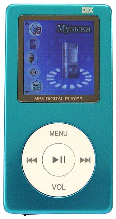 Плеер Dex MPX-153 256Mb