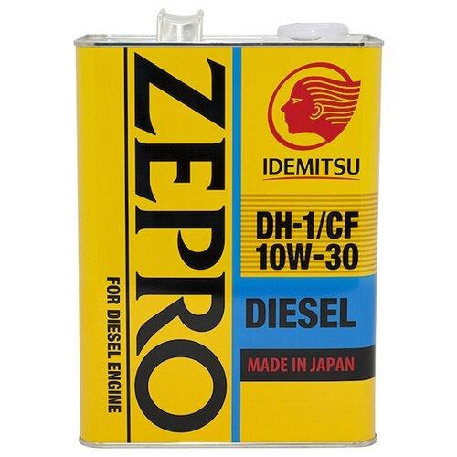 Минеральное моторное масло IDEMITSU Zepro Diesel 10W-30 4 л минеральное моторное масло mobis classic gold diesel 10w 30 4 л