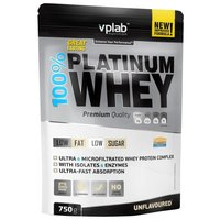 Протеин VP Laboratory 100% Platinum Whey (750 г) нейтральный