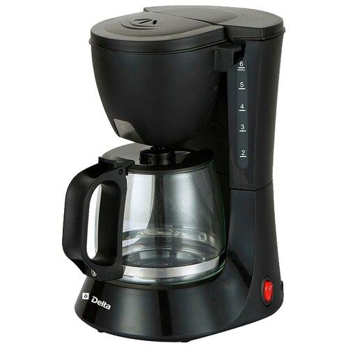Кофеварка DELTA DL-8153 черный