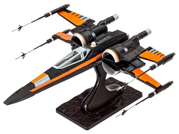 Сборная модель Revell Звездный истребитель X-wing По Дамерона (06692) 1:50