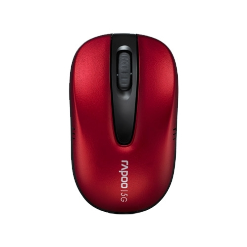 Мышь Rapoo Wireless Optical Mouse 1070P Red USB