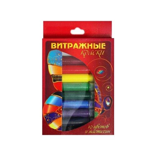 Купить Краски Color Kit Краски KK003 10 цв., Витражная роспись