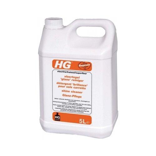 HG Моющее средство для напольной плитки 5 л 5 кгДля мебели, ковров и напольных покрытий<br>