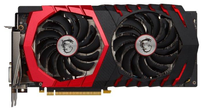 MSI GeForce GTX 1060 1594Mhz PCI-E 3.0 6144Mb 8100Mhz 192 bit DVI HDMI HDCP