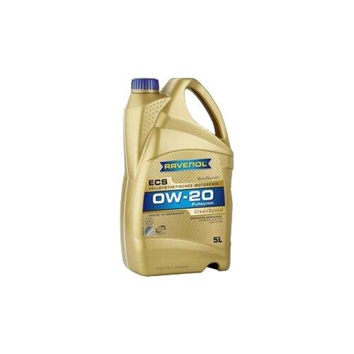 Моторное масло Ravenol Eco Synth ECS SAE 0W-20 5 л
