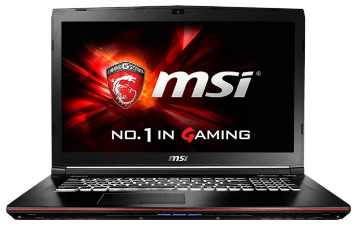MSI Ноутбук MSI GE72 6QC Apache (Core i7 6700HQ 2600 MHz/17.3