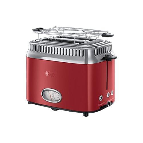Тостер Russell Hobbs 21680-56 Retro, красный тостер russell hobbs 21395 56