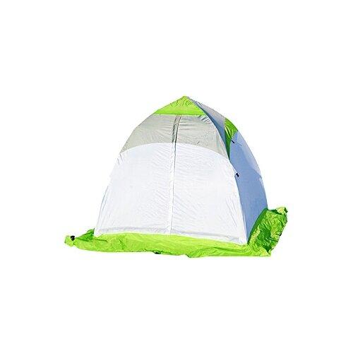 Палатка ЛОТОС 1C для рыбалки белый/зеленый