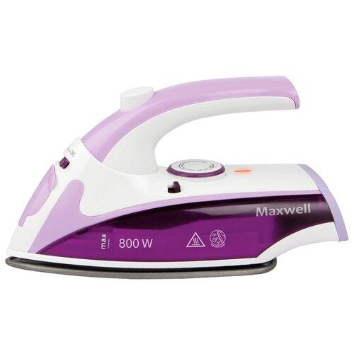 Утюг Maxwell MW-3057 VT фиолетовый/белый недорого