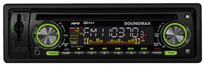Автомагнитола SoundMAX SM-CDM1039 (2010)