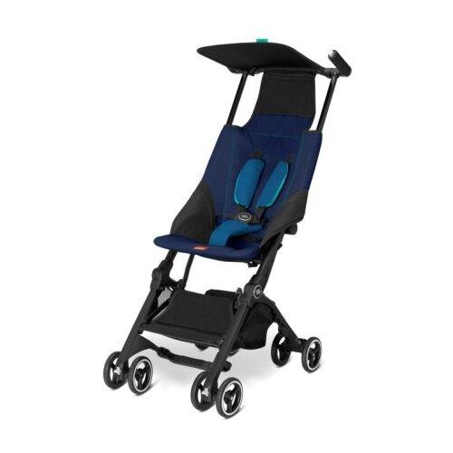 Прогулочная коляска GB Pockit sea port blue
