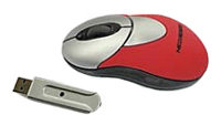Мышь NeoDrive Optical Mini Mouse Red USB