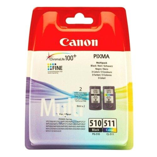 Фото - Набор картриджей Canon PG-510/CL-511 Multipack (2970B010) набор картриджей canon pg 40 cl 41 multipack 0615b043