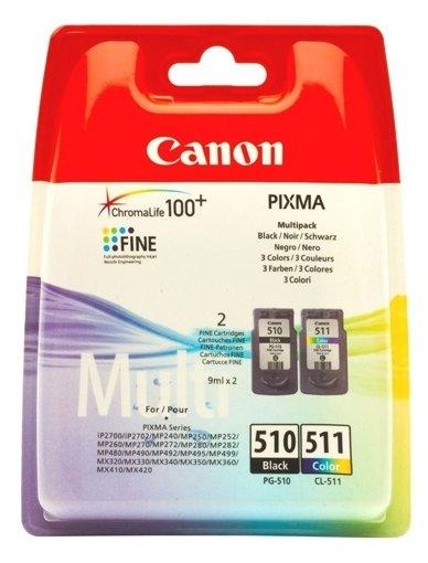 Набор картриджей Canon PG-510/CL-511 Multipack (2970B010)