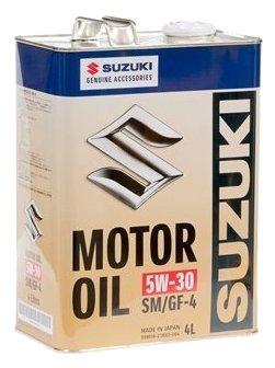 Suzuki MOTOR OIL 5W-30 4 л