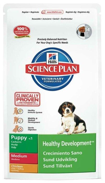 Корм для щенков Hill's Science Plan курица 18 кг (для средних пород)