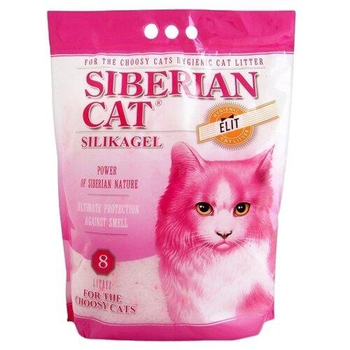 Впитывающий наполнитель Сибирская кошка Элита для привередливых кошек, 8 л