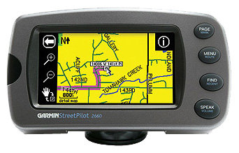 Навигатор Garmin StreetPilot 2660