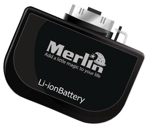 Merlin Power Bank for iPhone - 600 mAh