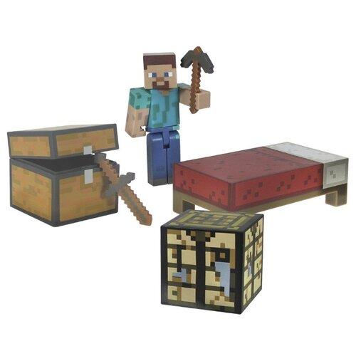 Купить Игровой набор Jazwares Minecraft для выживания 16450, Игровые наборы и фигурки