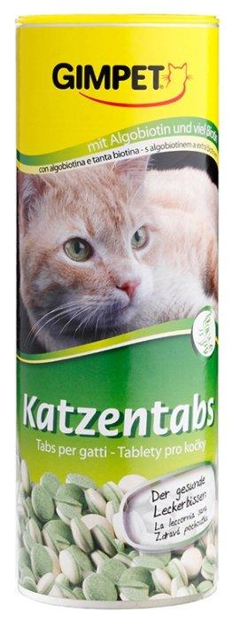 GimPet Katzentabs с водорослями