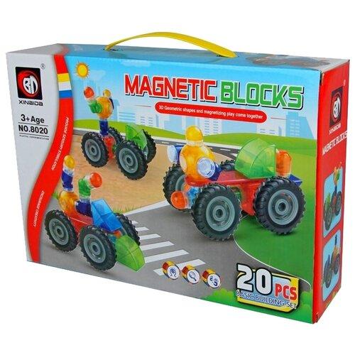 Магнитный конструктор Xinbida Magnetic Blocks 8020 конструктор guidecraft io blocks 59 дет g9604