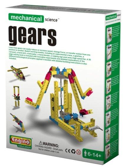 Конструктор ENGINO Mechanical Science M07 Gears