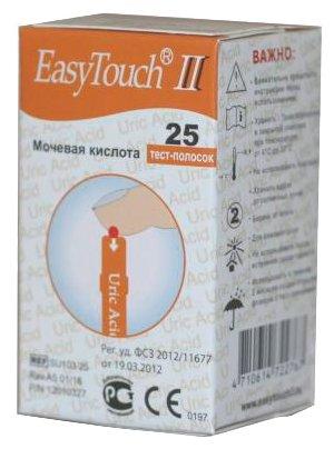 Easy Touch тест-полоски мочевая кислота