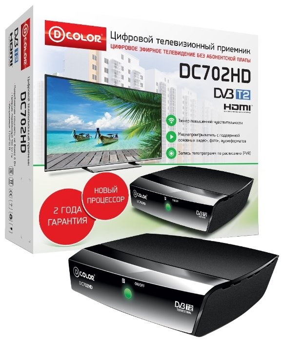 D-COLOR TV-тюнер D-COLOR DC702HD