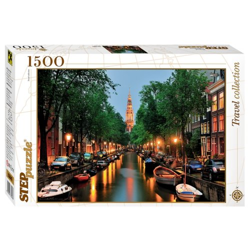Купить Пазл Step puzzle Travel Collection Амстердам (83049), 1500 дет., Пазлы