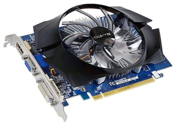 GIGABYTE Видеокарта GIGABYTE GeForce GT 730 902Mhz PCI-E 2.0 2048Mb 5000Mhz 64 bit DVI HDMI HDCP