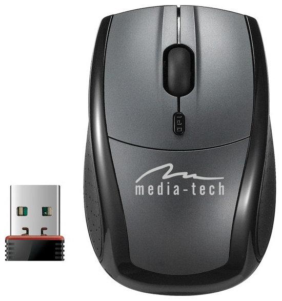 Мышь Media-Tech MT1062 Silver-Black USB