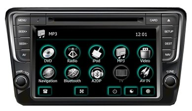 Автомагнитола FlyAudio 66007A20E1 Volkswagen Polo 2013