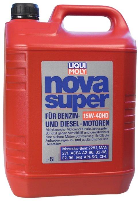 Моторное масло LIQUI MOLY Nova Super 15W-40 5 л